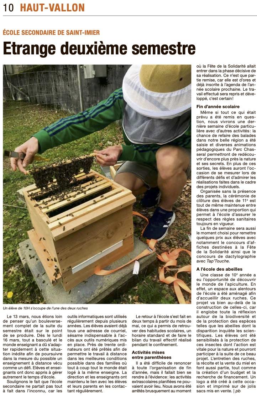 article Bechtel ESSI 26.6.20