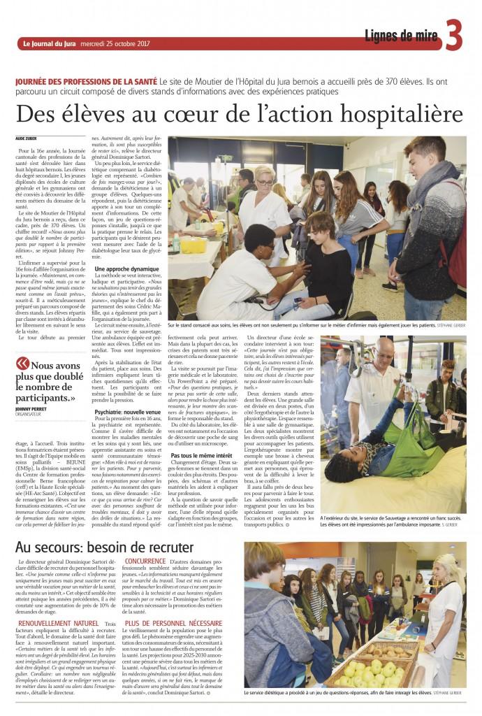 article JdJ journée SANTE