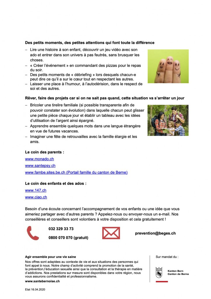 Santé Bernoise Bulletin_parents_corona_2_fr p.2